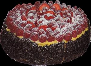 Gâteau d'anniversaire framboise